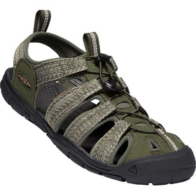 Keen Clearwater CNX Sandali Uomo, forest night/black